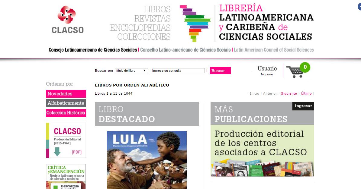 LIBRERIA MEXICANA Y CARIBEÑA CS SOCIALES CLACSO